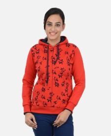 v-elbi Full Sleeve Printed Women's Sweatshirt