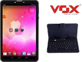 Vox V102 Dual Sim Calling Tablet + Keyboard (4 GB)