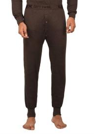 Lux Cottswool Brown Thermal Men's Pyjama