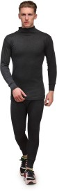 Alfa Lava Thermal High Neck Men's Top - Pyjama Set
