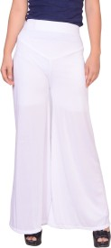 gds Regular Fit Women's White Trousers