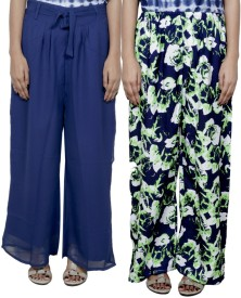 Tullis Regular Fit Women's Blue, Blue, Green Trousers