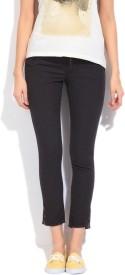 Lee Slim Fit Women's Black Trousers
