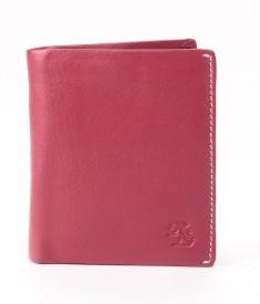 Walletsnbags Men, Women Casual Red Genuine Leather Wallet