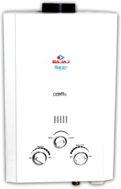 Bajaj Majesty Duetto (PNG /LPG) 6 Litre Gas Water Geyser