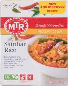 MTR Ready To Eat - Sambar Rice 300 g