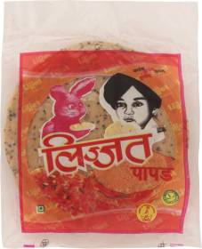Lijjat Punjabi Masala Papad 200 g
