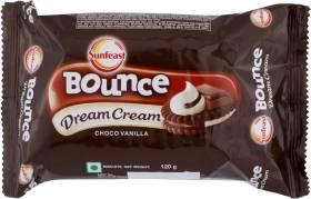 Sunfeast Bounce Dream Choco Vanilla Biscuit Cream Sandwich