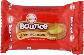 Sunfeast Bounce Dream Butterscotch Zing Biscuit Cream Sandwich