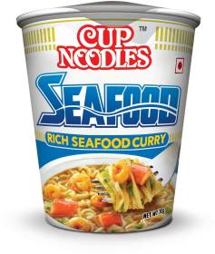 Nissin Seafood Cup Noodles Non-vegetarian