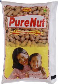 Pure Nut Filtered Groundnut Oil Pouch