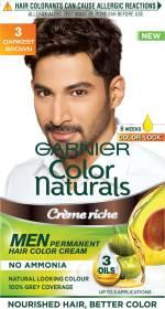 Garnier Men Color Naturals , Darkest Brown 3