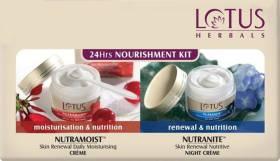 LOTUS Herbals 24Hrs Nourishment Kit