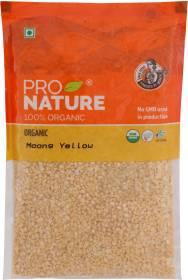 Pro Nature Organic Yellow Moong Dal (Split)
