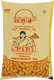 SAFAL Filtered Groundnut Oil Pouch