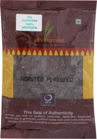 safe harvest Roasted Flax Seeds