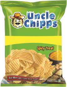 Uncle Chipps Spicy Treat Chips