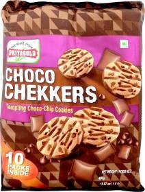 Priyagold Choco Chekkers Cookies