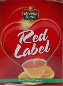Red Label Tea Box