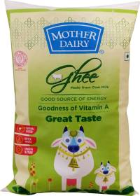 MOTHER DAIRY Pure Healthy Cow Ghee 1 L Pouch