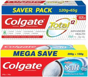 Colgate Total Advanced Health and Active Salt Toothpaste