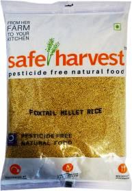 safe harvest Rice Foxtail Millet