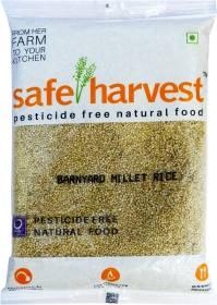 safe harvest Rice Barnyard Millet