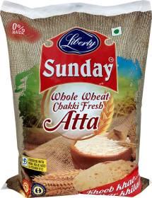 Liberty Sunday Whole Wheat Chakki Fresh Atta