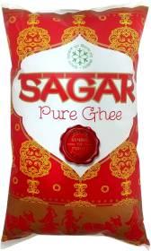 Sagar Pure Ghee 1 L Pouch