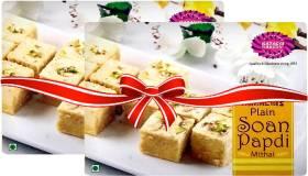 Karachi Bakery Plain Soan Papdi Mithai Box