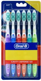 Oral-B Cavity Defense Toothbrush Soft Toothbrush