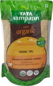 Tata Sampann Organic Yellow Moong Dal (Split)