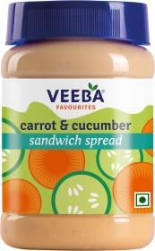VEEBA Carrot and Cucumber Sandwich Spread 250 g