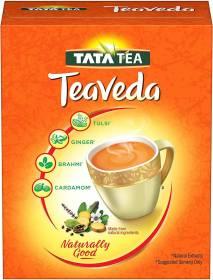 Tata Teaveda Ayurvedic Goodness Brahmi, Tulsi Tea Box