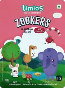 Timios Zookers Animal Shaped Salted Biscuit