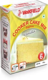 WeiKFiELD Eggless Cooker Cake Mix Vanilla 150 g