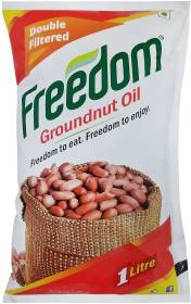 Freedom Double Filtered Groundnut Oil Pouch