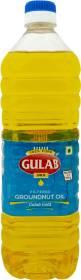 Gulab Gold Filtered Groundnut Oil Plastic Bottle