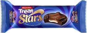 BRITANNIA Treat Stars and Milk Choco Duo Cream Filled