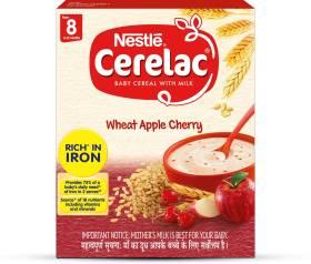 Nestle Cerelac Wheat Apple Cherry Cereal
