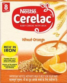 Nestle Cerelac Wheat Orange Cereal
