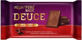 BRITANNIA Pure Magic Milk Choco Deuce Cream Cracker Biscuit