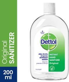 Dettol Instant  Bottle Pack Hand Sanitizer Bottle