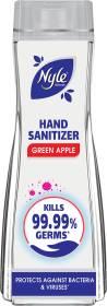 Nyle Green Apple Hand Sanitizer Bottle