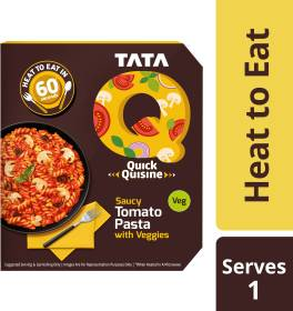 Tata Q Saucy Tomato Pasta with Veggies 290 g