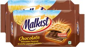 Malkist Chocolate Crackers Family Pack Cream Cracker Biscuit
