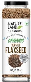 Natureland Organics Roasted Flaxseed