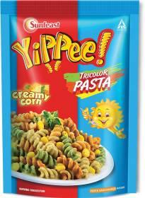 YIPPEE Tricolor Creamy Corn Pasta