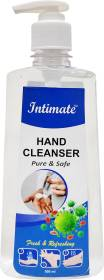 Intimate Pure and Safe Hand Sanitizer Pump Dispenser