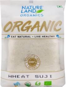 Natureland Organics Wheat Suji